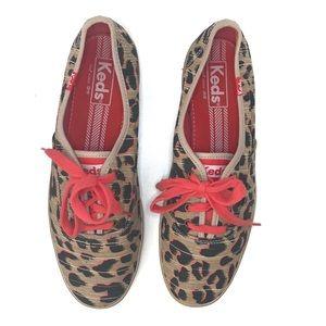 Cheetah Keds Womans Size 7 EUC